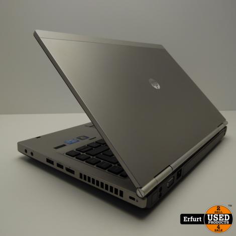 HP EliteBook 8470p 4GB/500GB Silber win7 Pro 14