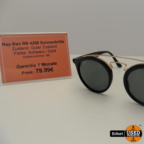 Ray-Ban RB 4256 Sonnenbrille Schwarz I Guter Zustand
