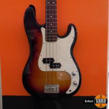 DiMavery Bass Gitarre DiMavery PB-302 mit Ständer