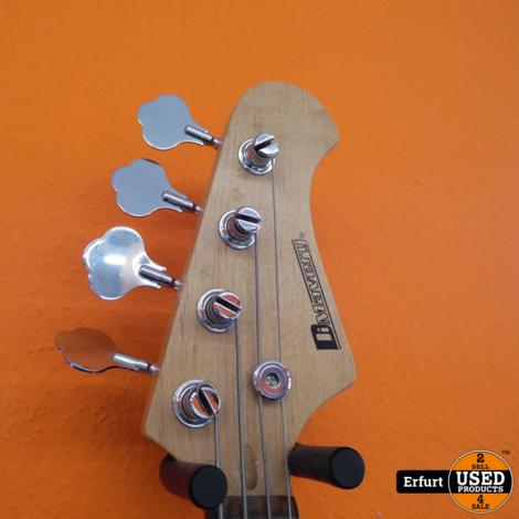 Bass Gitarre DiMavery PB-302 mit Ständer