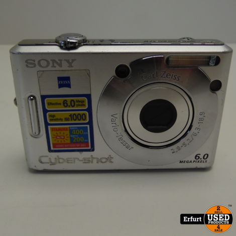 Sony Cyber-Shot DSC-W30  I Guter Zustand