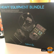 Logitech Heavy Equipment Bundle Landwirtschaft Simulator