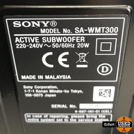 Sony Soundbar mit WiFi Woofer HT-MT300
