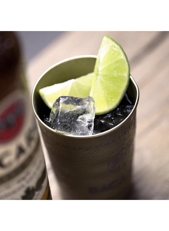 Mix your dark spirit & add ice...