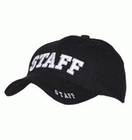Baseball cap Staff Black
