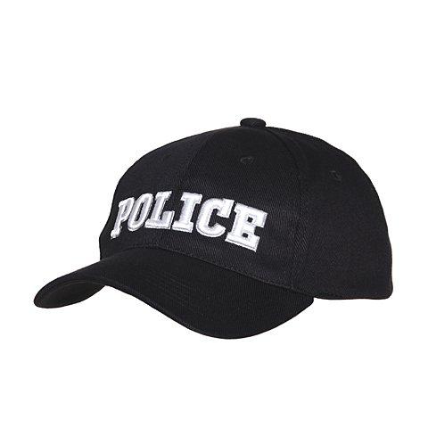 Baseball cap Police Black