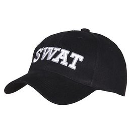 Baseball cap Swat Black 215150-220