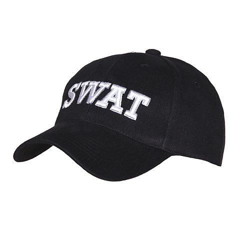 Baseball cap Swat Black