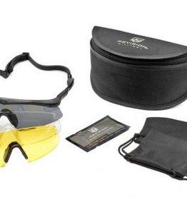 Revision Sawfly Deluxe Kit Ballistische Bril Zwarte Montuur 4-0151-0103