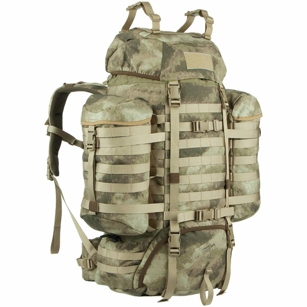 Wisport Rugzak Raccoon 65L with side pockets