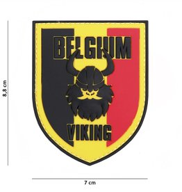 3 D patch 3D PVC Belgium Viking