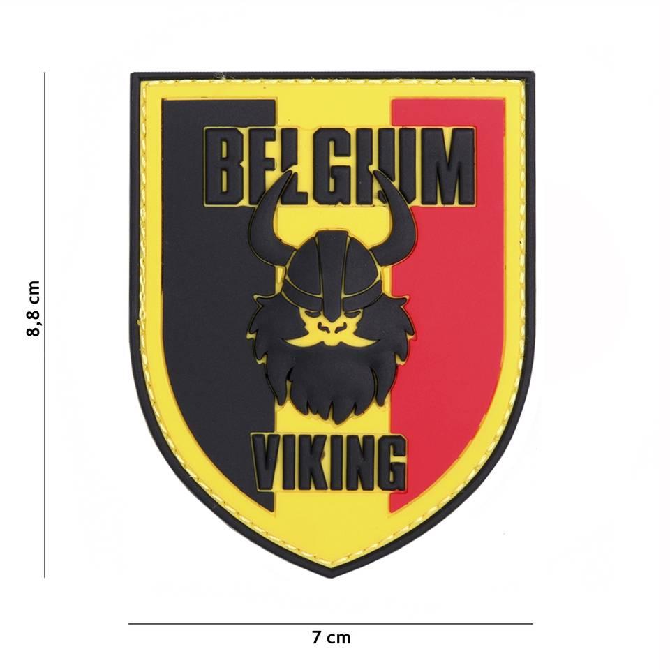 3 D patch 3D PVC BELGIUM VIKING #1083