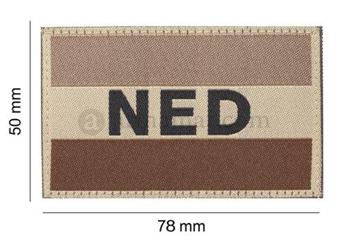 Nederlandse vlag  3D PVC
