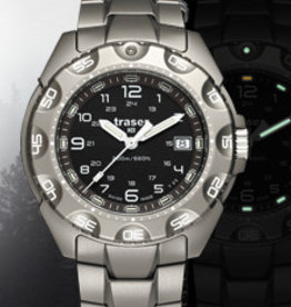 Traser Watches Traser P49 Special Force 100 titanium - Ø 44 mm - titanium