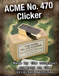 The Acme ACME 'Clicker No. 470 '
