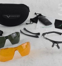 Univet Univet Full Pack 5x1 Ballistic Safety Glasses