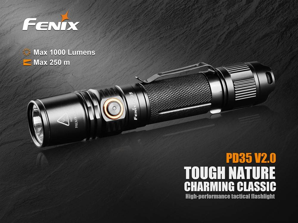 Fenix Fenix PD35 LED V2.0 zaklamp, 2018-editie
