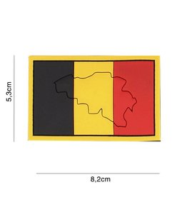 Velcro 3D Rubberpatch Belgium