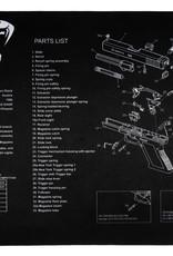 Viper Wapenkuis  schoonmaak  mat Glock / AK 47 / A 15