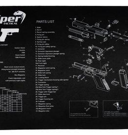 Viper Wapen place mat Glock / AK 47 / A 15