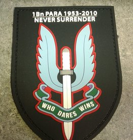 Boots and Goods Production 1 Bn Para Remember patch 1953-2010 3D Velcro Patch