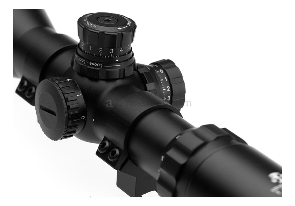 Steyr 1.5-6 x 50IR Tactical Version Steyr Precision
