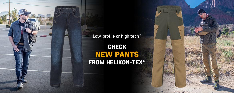 Nieuw Helikon Pants  !