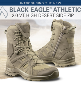 Haix BLACK EAGLE Athletic 2.0 V T high/desert/Sidezipper