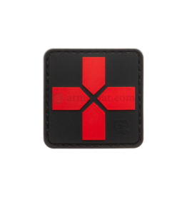 Medic Cross Velcro Patch PVC