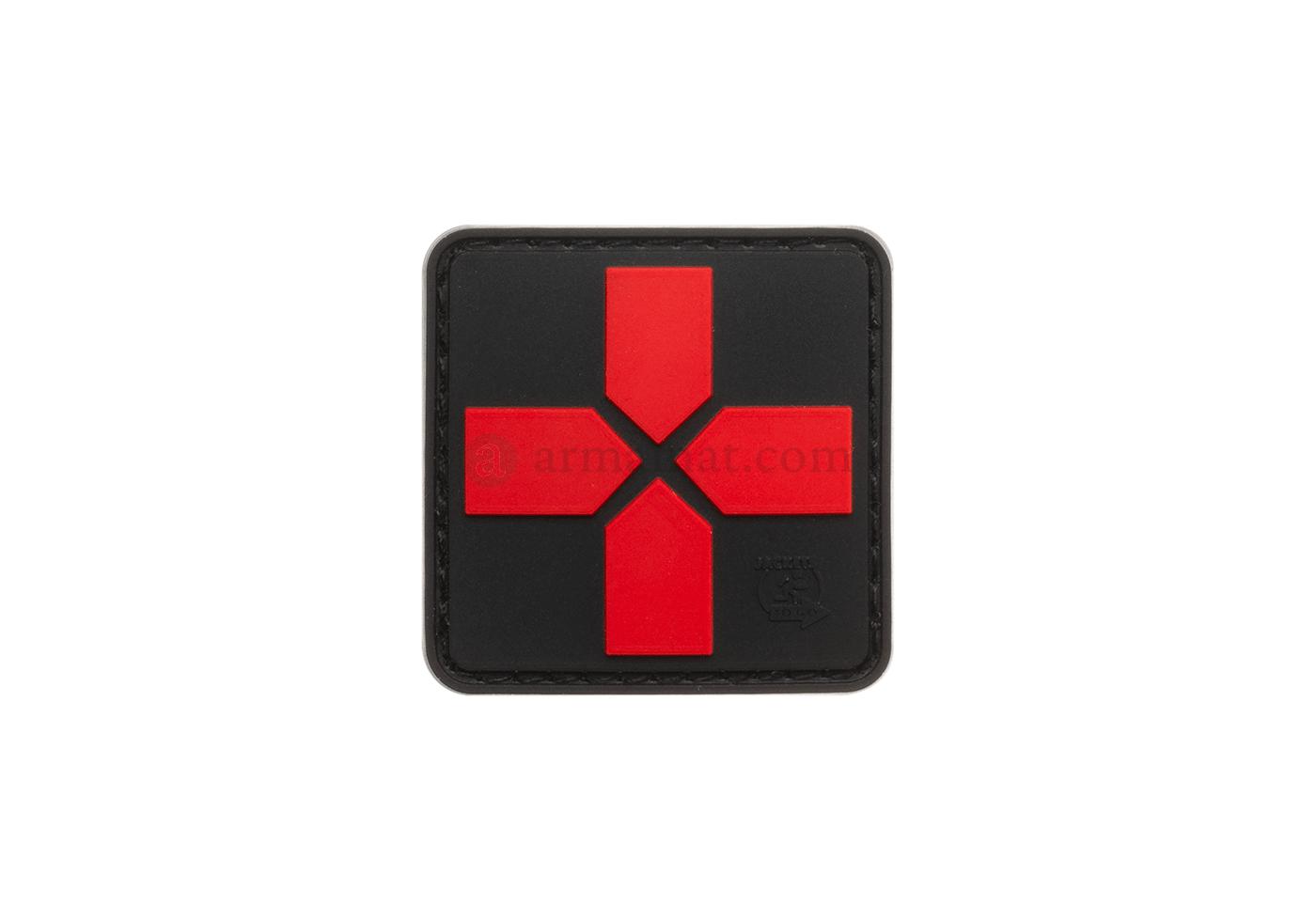 Medic Cross Velcro Patch PVC