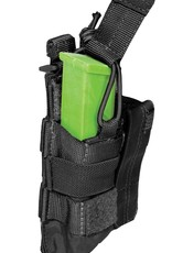 5.11 DOUBLE PISTOL BUNGEE COVER BLACK