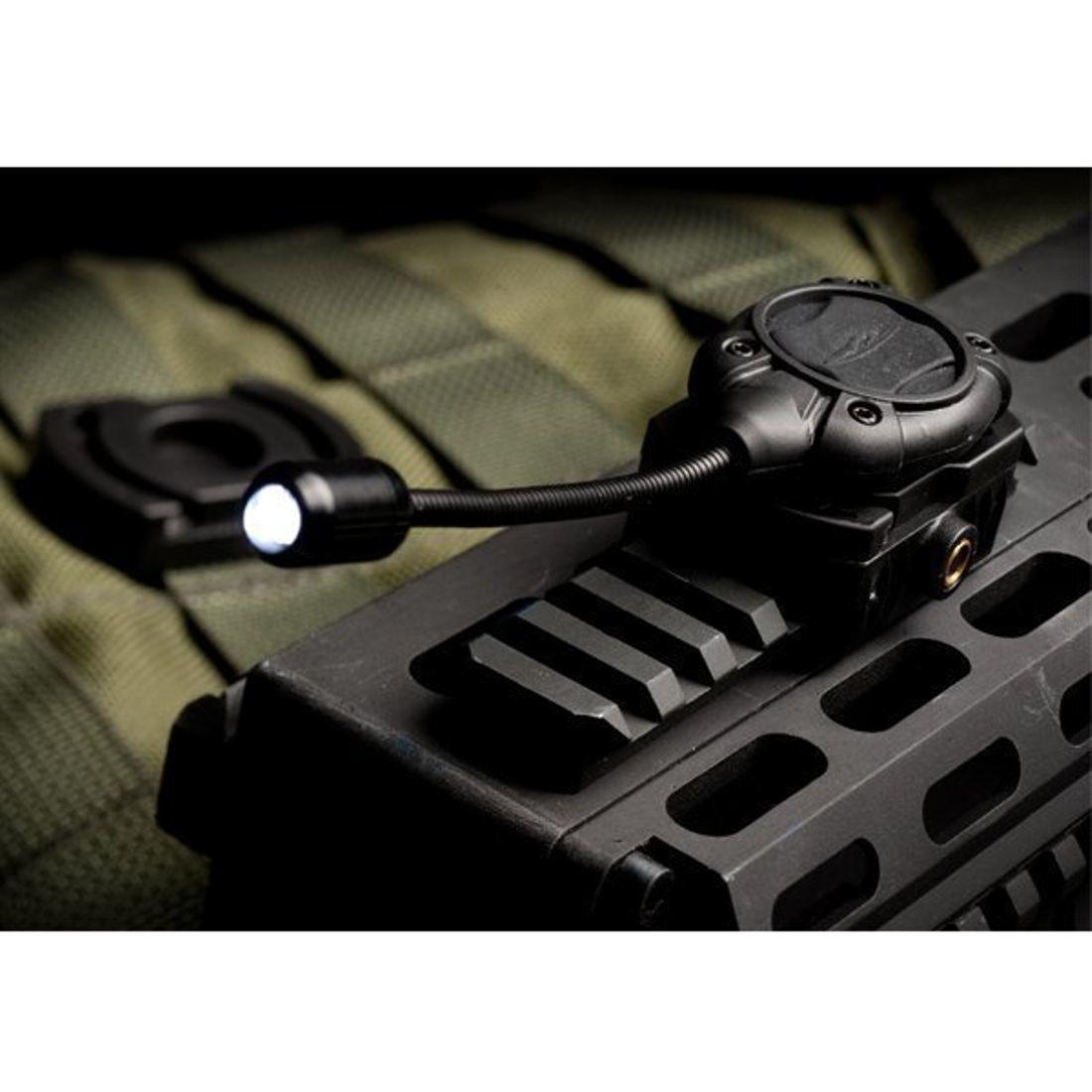 Princeton Tec MPLS ZWART LED LICHT WIT