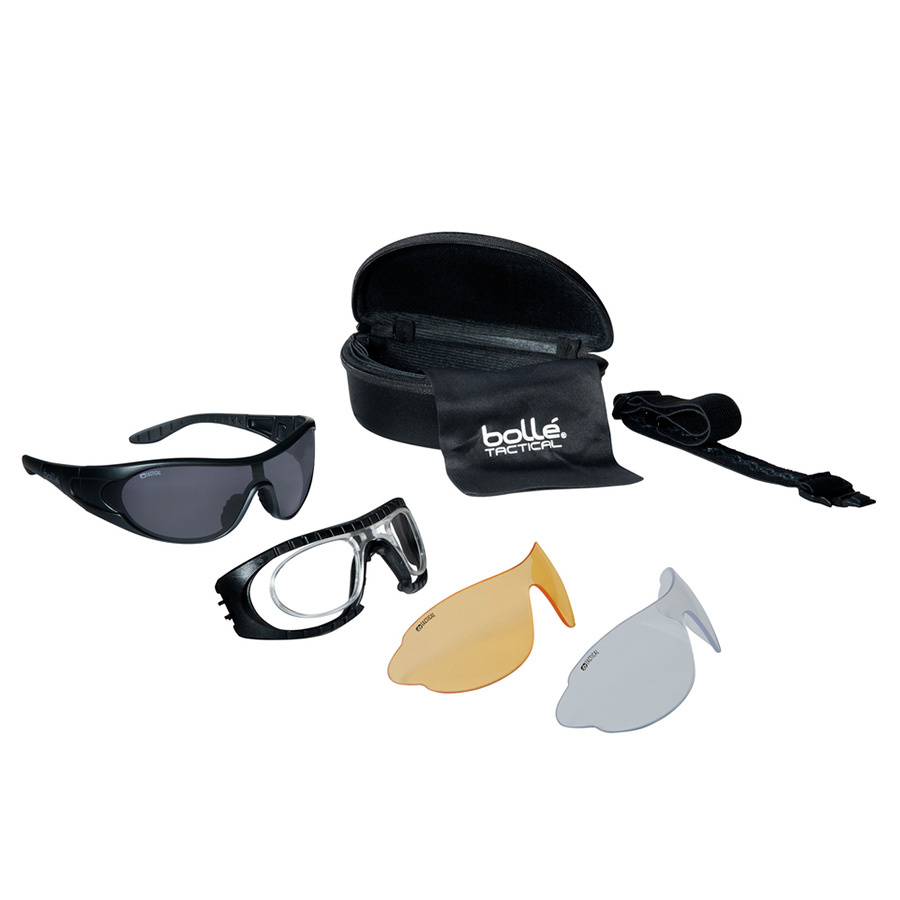 Bollé  raider kit bril platinum