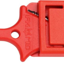"Fox Knives FOX R.T. 2 AIRBORNE EMERGENCY TOOL ""FKMD R.T.2"" RED"