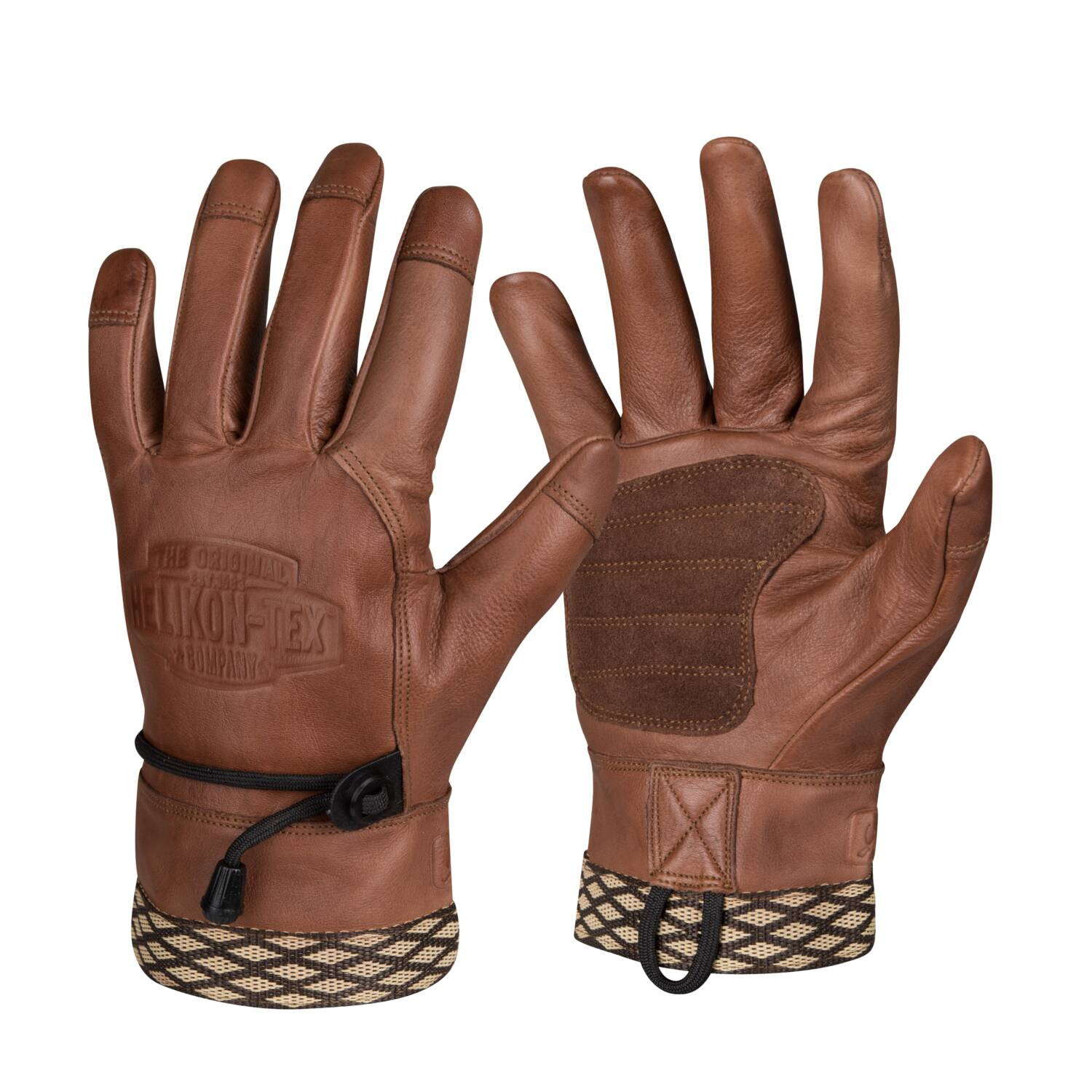 Helikon-Tex Woodcrafter Gloves - Brown