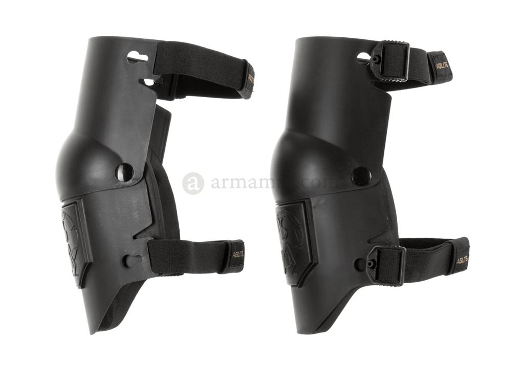 Aglite Axis knee pads black