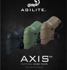 Aglite Axis knee pads black
