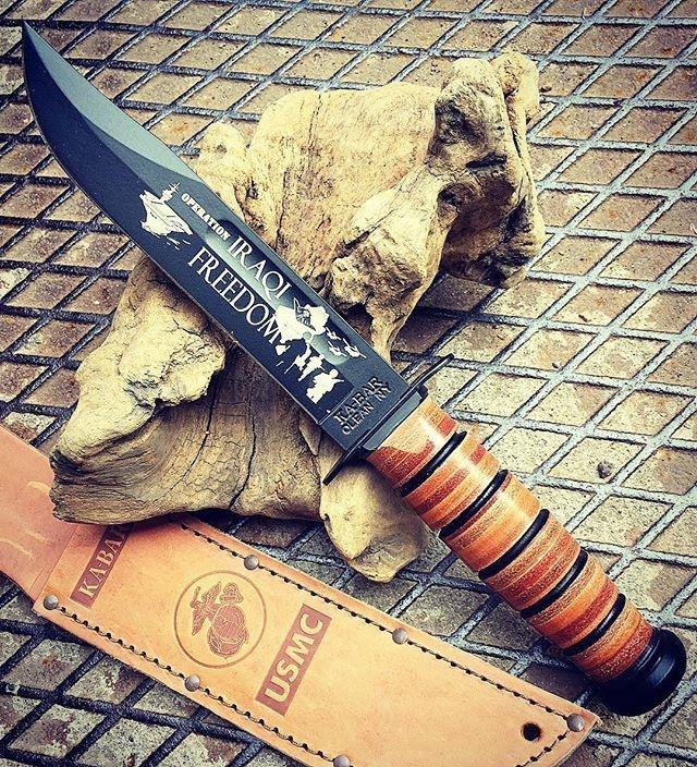 KA-BAR Operation Iraqi Freedom Knife