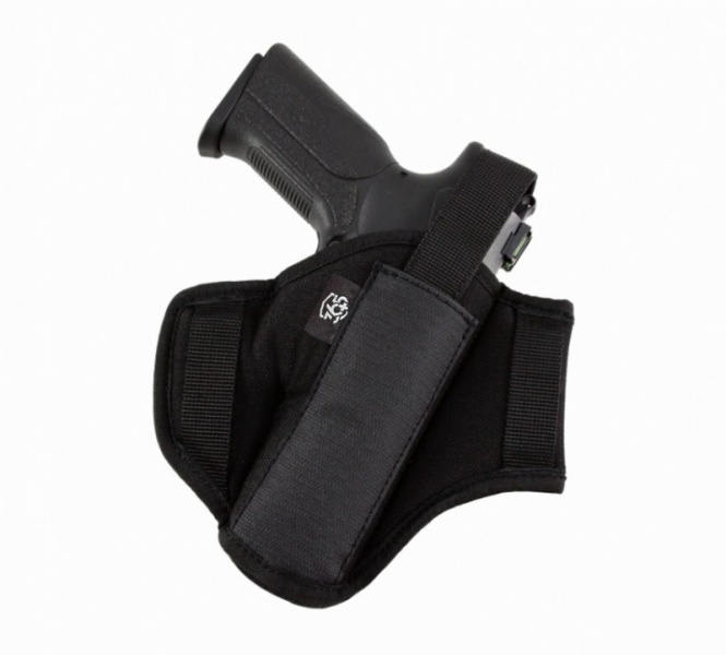 Ambidextrous Nylon Holster Close