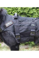 K9THORN Tactische  honden harnas  met constructiegaas.
