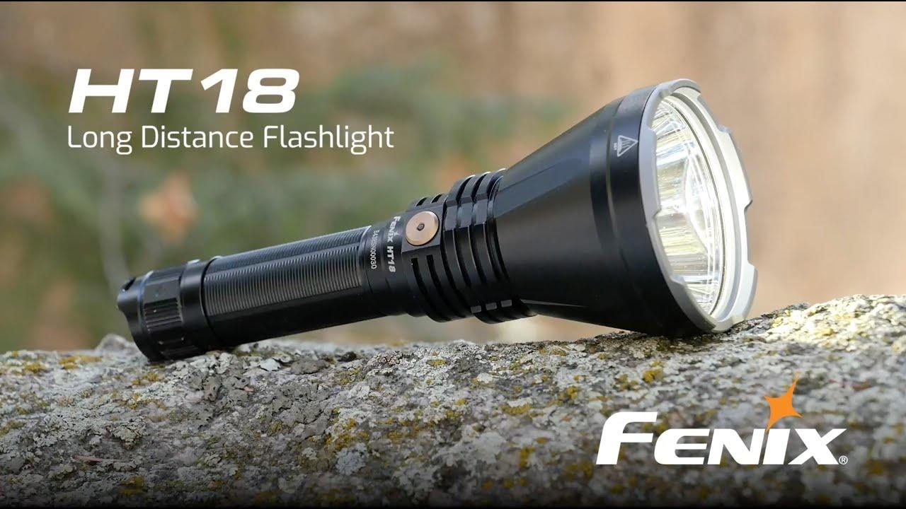 Fenix HT18 jachtzaklamp, 1500 lumen