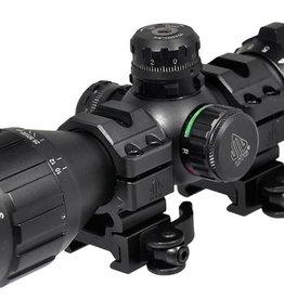 """UTG® UTG® 3-9X32 1"""" BugBuster Scope, AO, 36-color Mil-dot, Rings"""