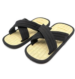 sandalen van rijststro Zoori