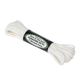 Atwood Rope 550 Paracord Glow In The Dark (50ft) - White