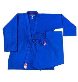 Fujimae TRAINING JUDO GI Blauwe kleur