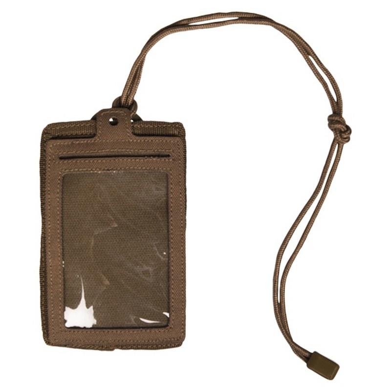 Badge  houder  NYLON KOORD