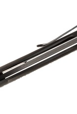 "Black Fox  Gravity Rescue Folding Knife 3.35"" Black"