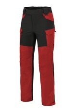 Helikon-Tex® HYBRID OUTBACK PANTS®  DURACANVAS® - CRIMSON SKY / BLACK