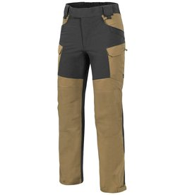 Helikon-Tex® HYBRID OUTBACK PANTS®  DURACANVAS® - Coyote / BLACK