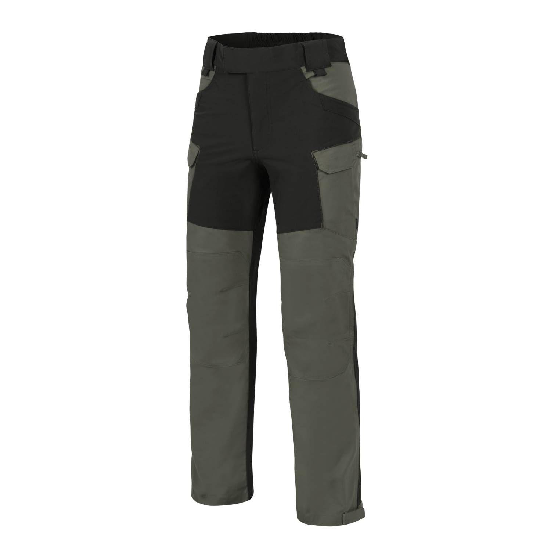 Helikon-Tex® HYBRID OUTBACK PANTS® - DURACANVAS® - TAIGA GREEN / BLACK
